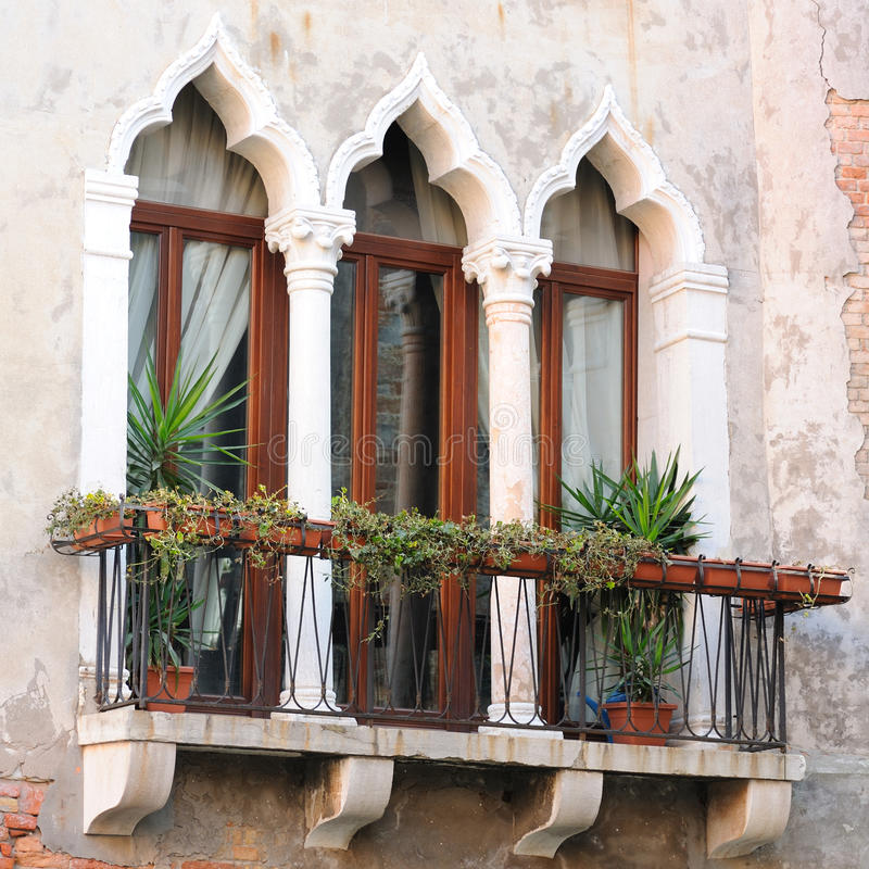 Download Detail Of Venetian Architecture, Venice, Italy Stock Image - Image: 23316073