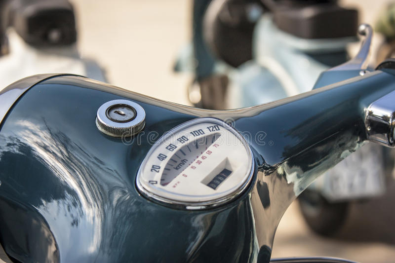 Detail of a Vespa royalty free stock photography