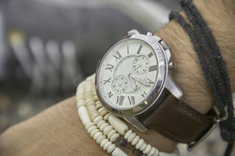 Vintage wristwatch royalty free stock image