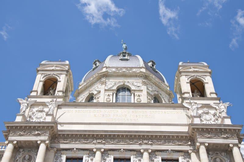 Detail vom Naturgeschichtliches Museum Wien lizenzfreie stockfotografie