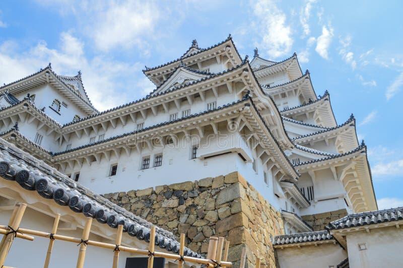 Detail von Himeji-Schloss Japan stockfoto