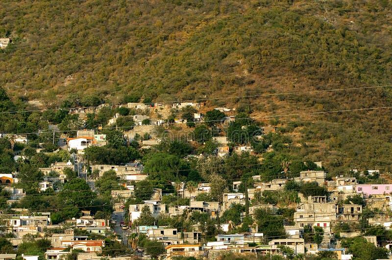 Detail von mexikanischen Bergen stockbilder