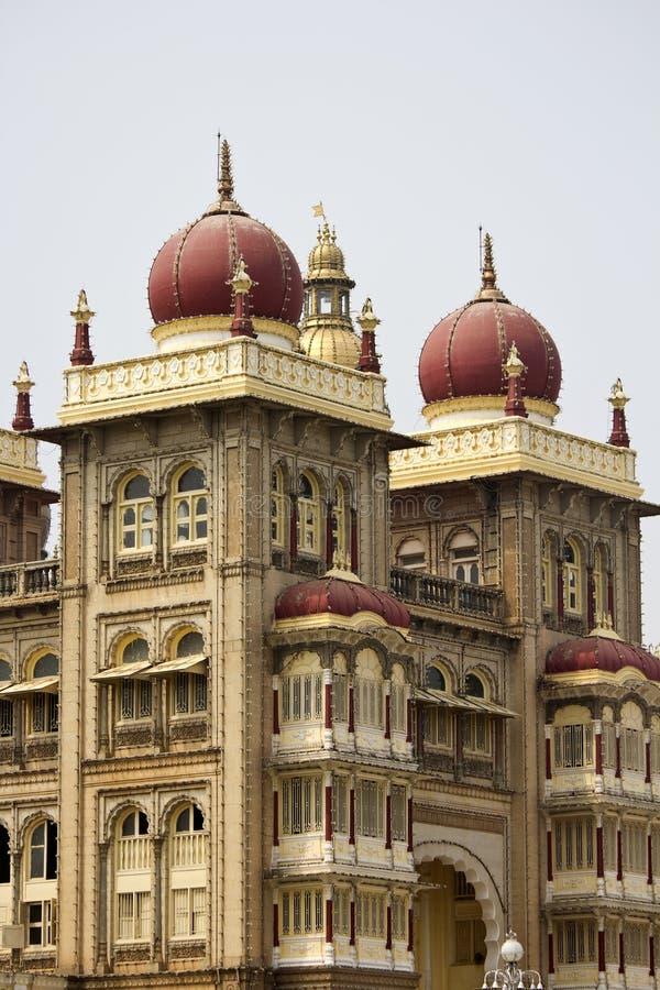 Detail von Mysore-Palast stockfoto