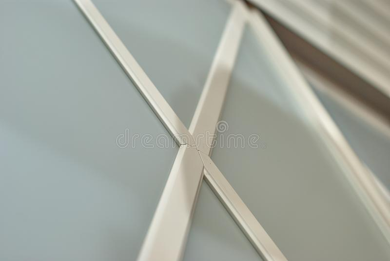 Detail of a wardrobe in a classic style stock image