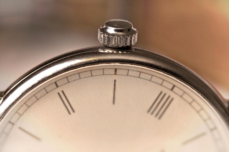 Detail of an watch royalty free stock image