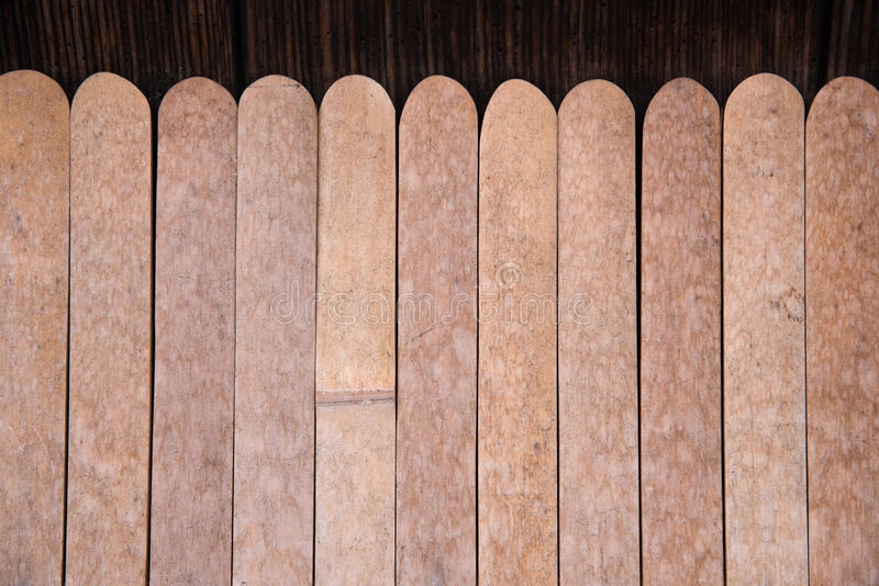 Detail of wood Japanese house in Gion. District in Kyoto Japan royalty free stock photography