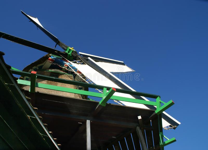 Download Detail Of A Wood Saw Windmill Stock Image - Image: 8505883