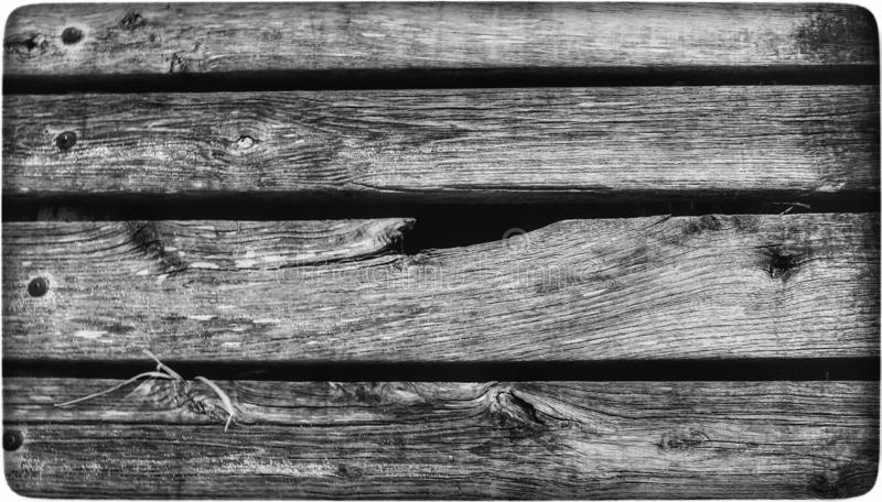 Detail of a wooden pier stock photo