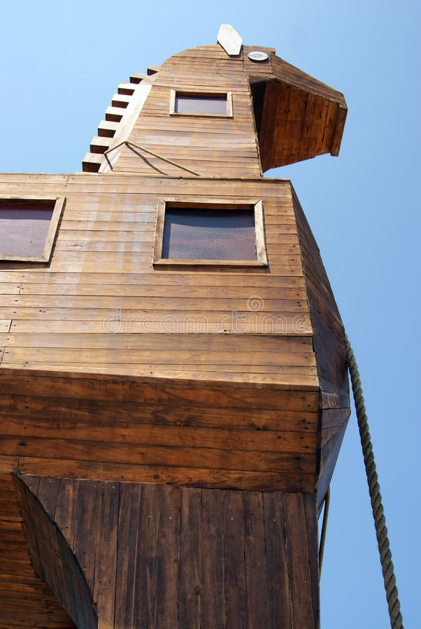 Download Detail Of Wooden Trojan Horse Stock Image - Image: 15442473