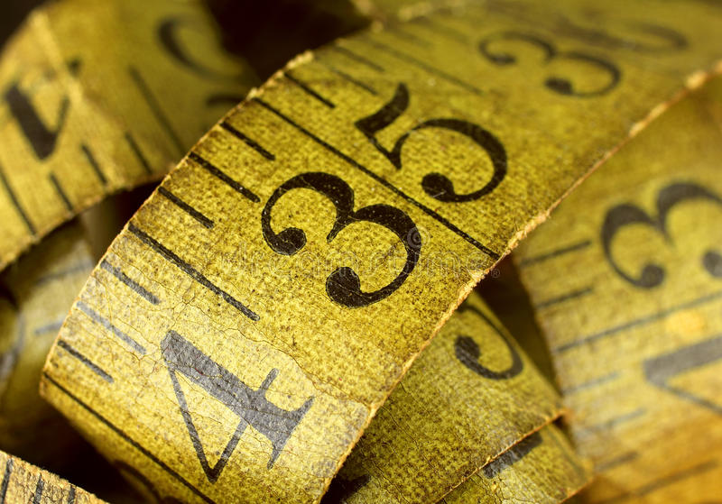 Download Old Tape Measure stock image. Image of detail, measure - 30295637