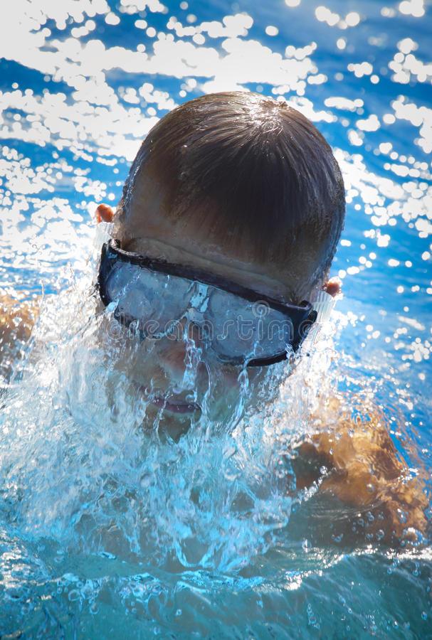 Download Detail Of Young Man Swimming Stock Photo - Image: 20293620