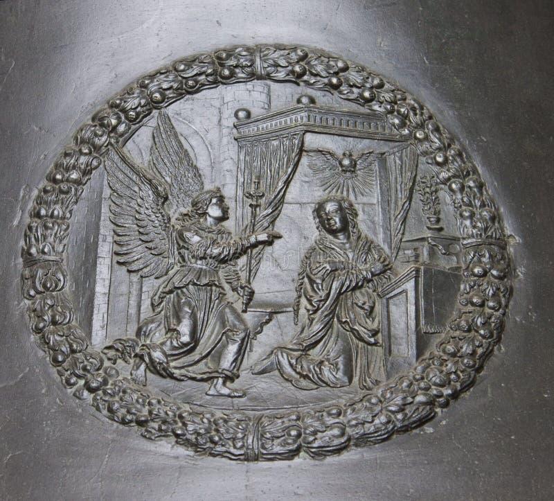 Detail of Zikmund bell royalty free stock image