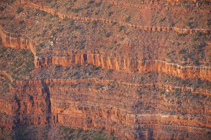 Download Detailed Abstract Of Layered Grand Canyon Cliffs. Stock Photo - Image: 15332712