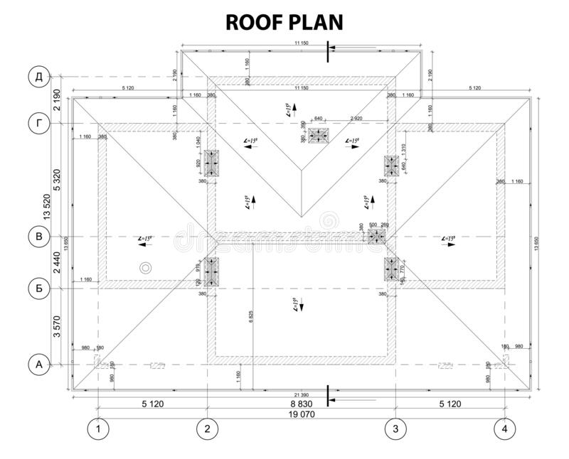 Plan Roof Stock Illustrations 8 158 Plan Roof Stock Illustrations Vectors Clipart Dreamstime