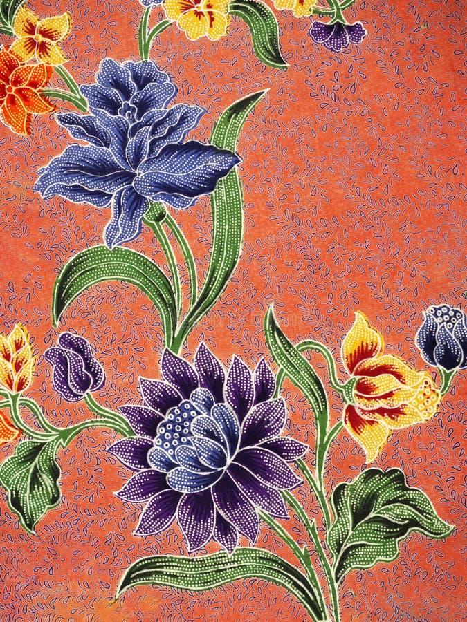 Batik pattern, Solo, Indonesia. Detailed batik print background, Solo, Indonesia stock images