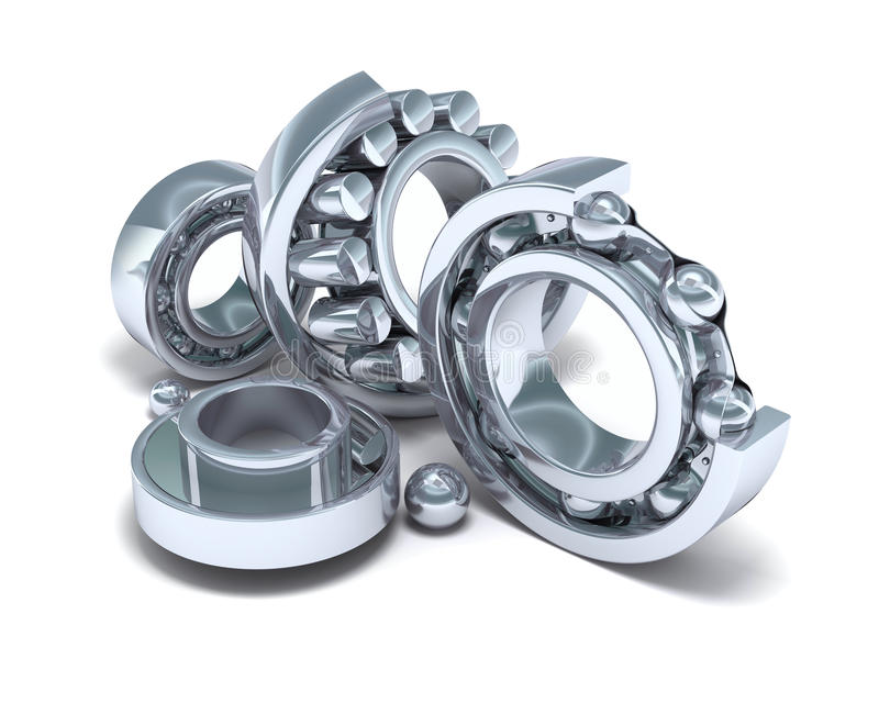 Download Detailed Bearings Production Stock Illustration - Image: 13899545
