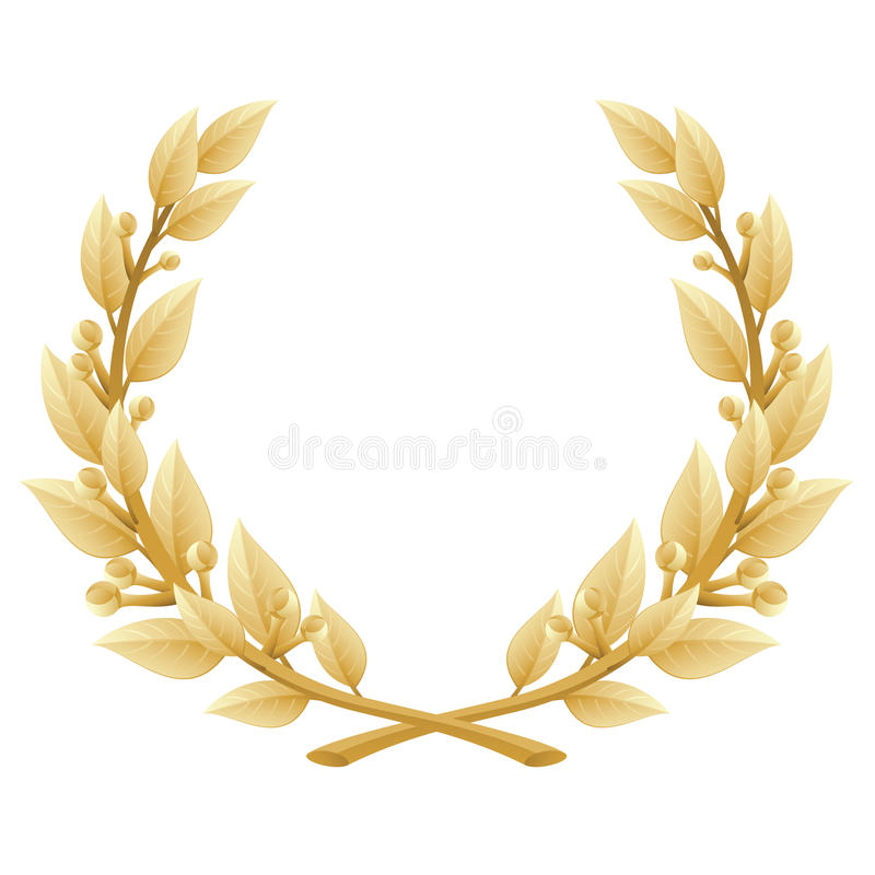 Free Detailed Laurel Wreath Victory Or Quality Award, Royalty Free Stock Photography - 21133747