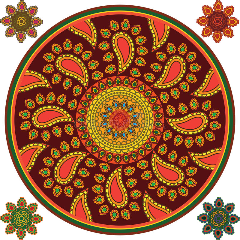 Download Detailed Mandala Background Stock Vector - Illustration of lotus, motif: 21822343