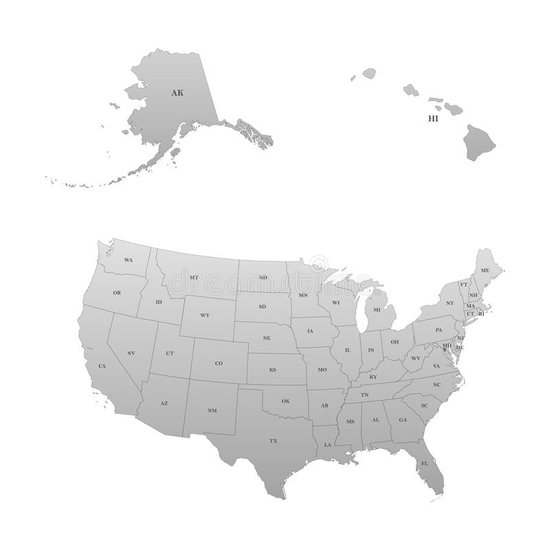 Detailed Map Of The United States Including Alaska And Hawaii