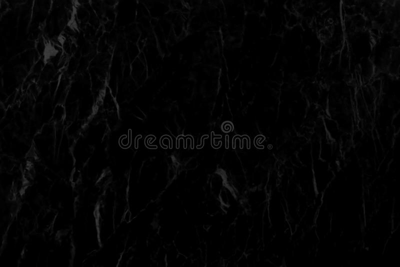 Detailed structure of black marble in natural pattern for ba stock images