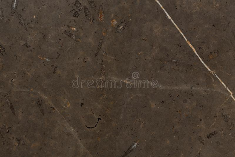 Detailed structure of luxury brown marble in natural patterned f royalty free stock photo