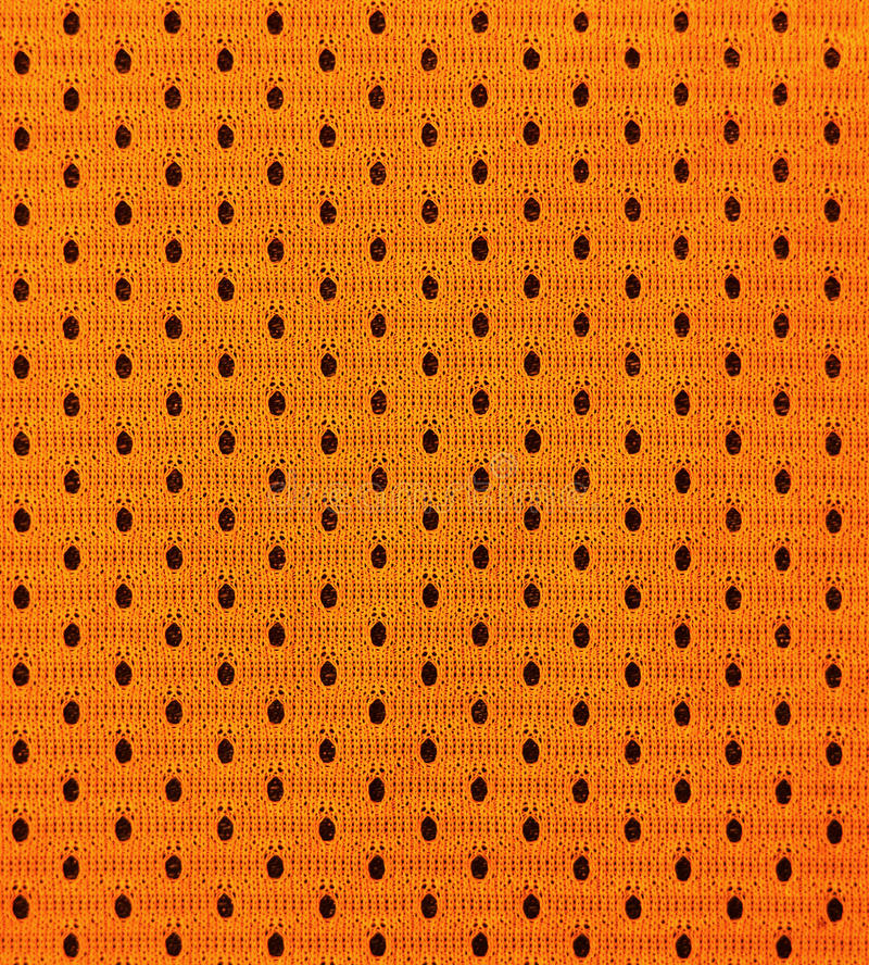 Detailed texture of basketball sportswearl cloth royalty free stock photos