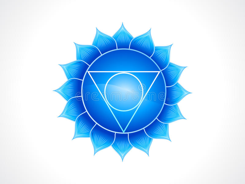 Download Detailed throat chakra stock vector. Image of energy - 27756983