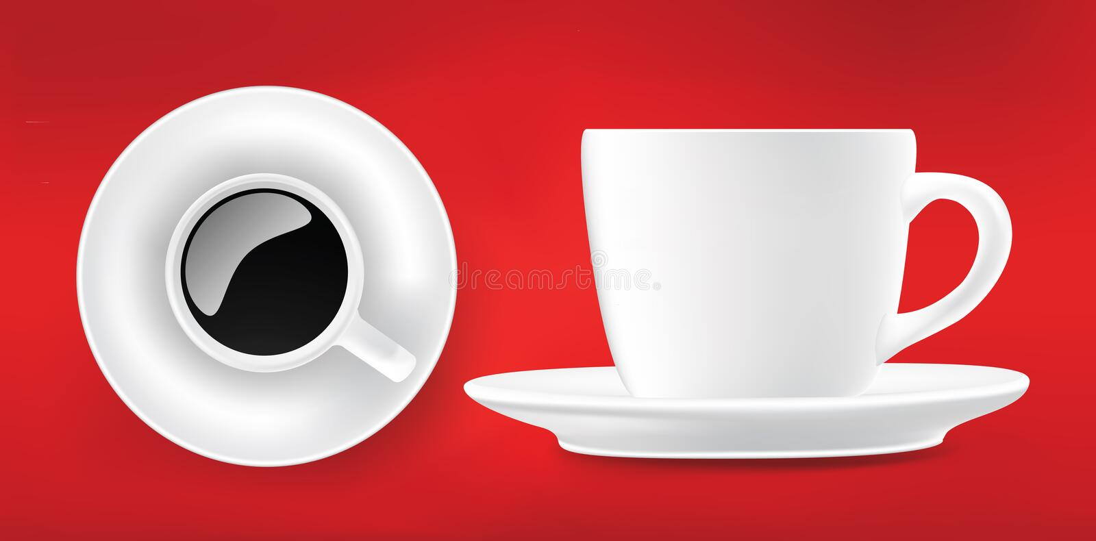 Detailed vector cup