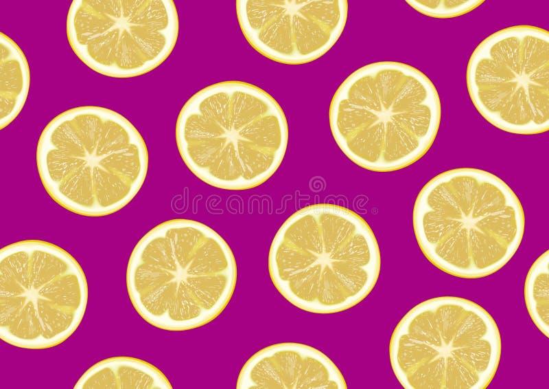 Lemon slice on background royalty free stock image