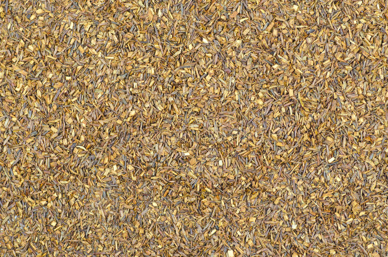 Detailed view of Rooibos tea royalty free stock photography