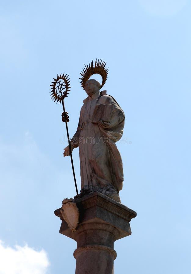 Gorizia, Italy. Details of architecture of Gorizia, Italy royalty free stock photo