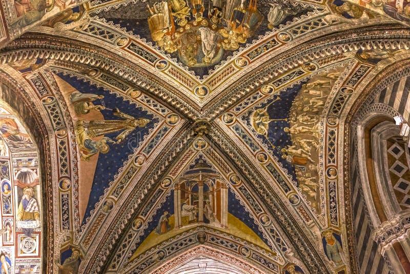 Download Details Of The Battistero Di San Giovanni, Siena, Italy Editorial Image - Image: 83701925