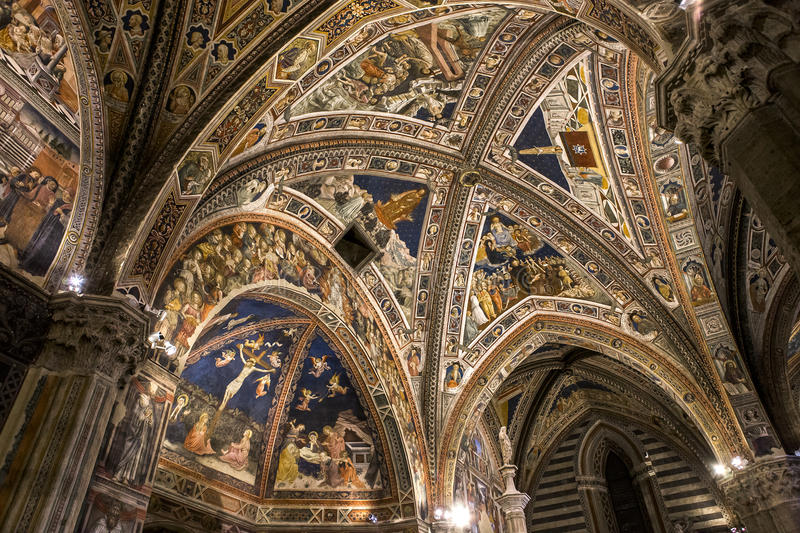 Download Details Of The Battistero Di San Giovanni, Siena, Italy Editorial Photography - Image: 83702367