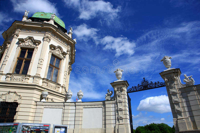 Download Details Of Belvedere Palace.Vienna Stock Photo - Image: 18230674