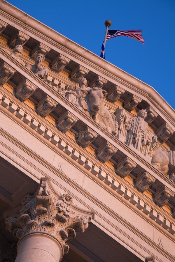 Details bij de Bouw van het Capitool van de Staat royalty-vrije stock afbeeldingen