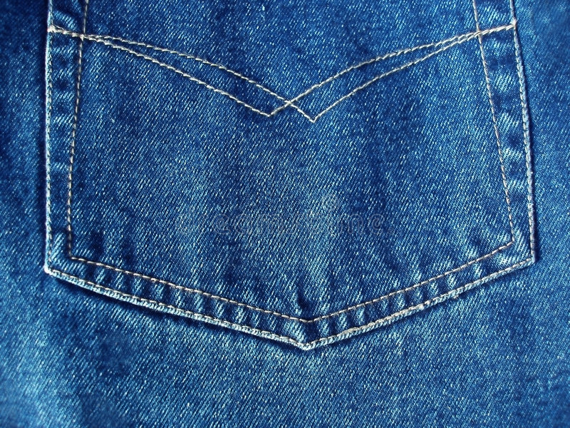 Download Details from blue jeans stock image. Image of pocket, button - 191347
