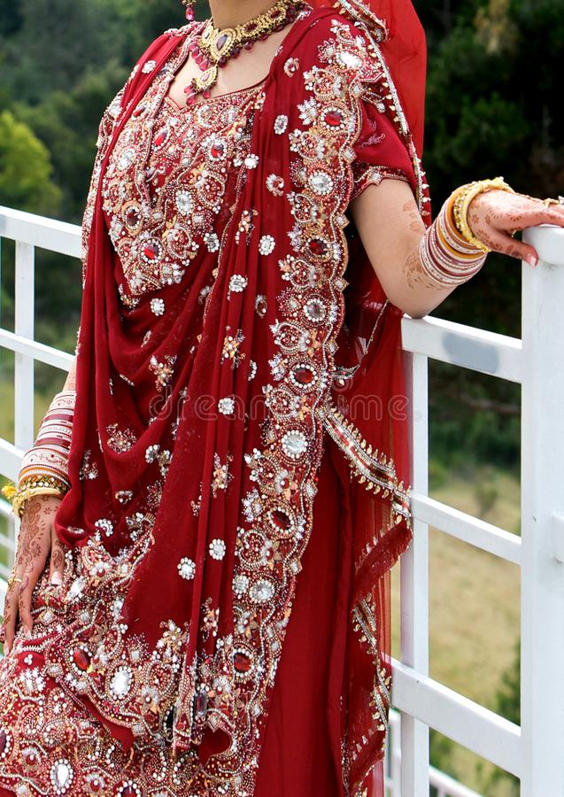 Indian wedding accessories. Details of bride`s wear at the punjabi wedding, indian wedding accessories stock photography
