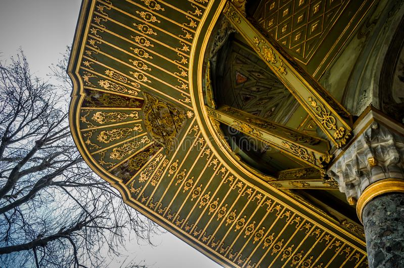 Details of the buildings in the Topkapi Palace. Istanbul stock photos