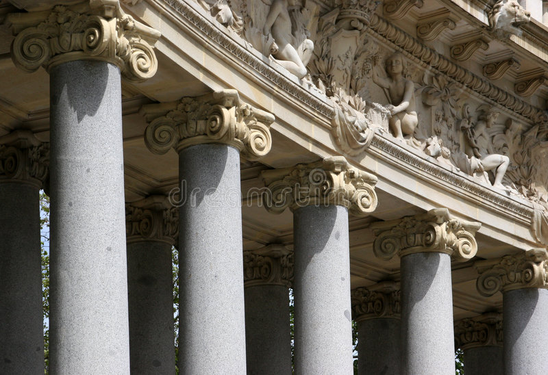 Download Details Of Corinthian Columns Stock Photo - Image of retiro, temple: 112854