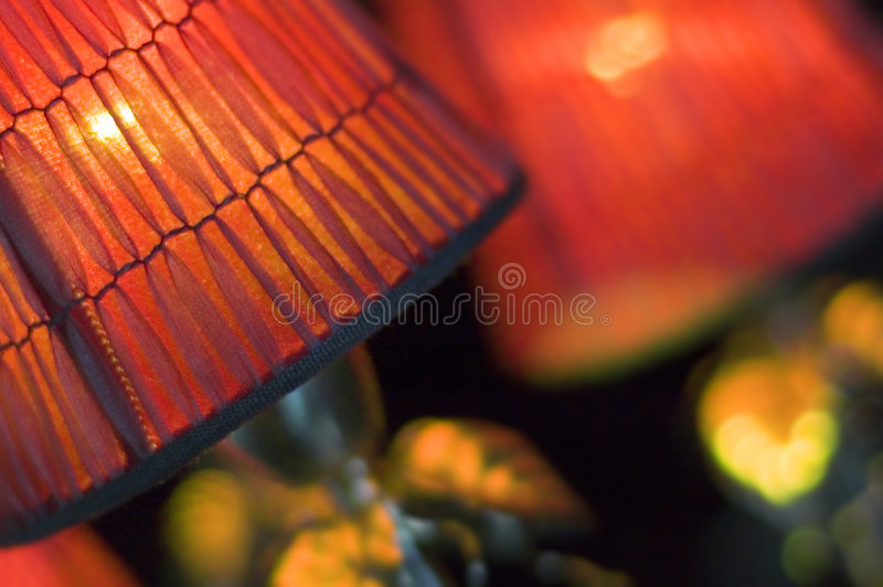 details den gammala lampan royaltyfri bild