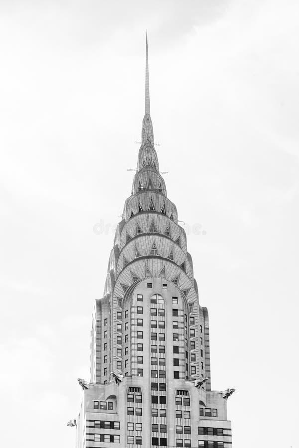 Details des Chrysler-Gebäudes, in Midtown Manhattan, New York City lizenzfreies stockfoto