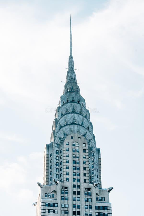 Details des Chrysler-Geb?udes, in Midtown Manhattan, New York City lizenzfreies stockbild