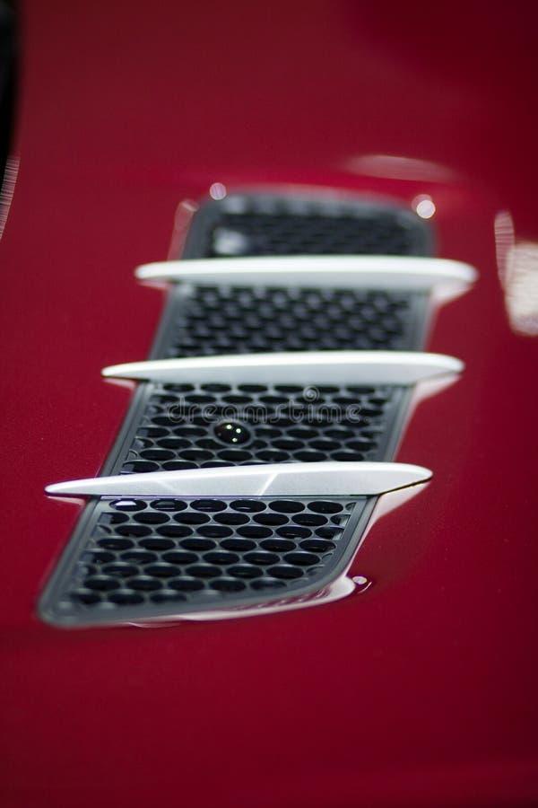 Details des Merzedes Benz-SL lizenzfreie stockbilder