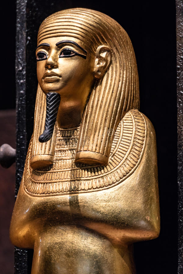 Details from an Egyptian museum royalty free stock photos