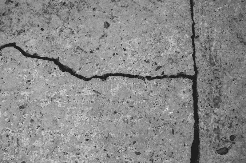 Details eines Erdbebens lizenzfreie stockbilder