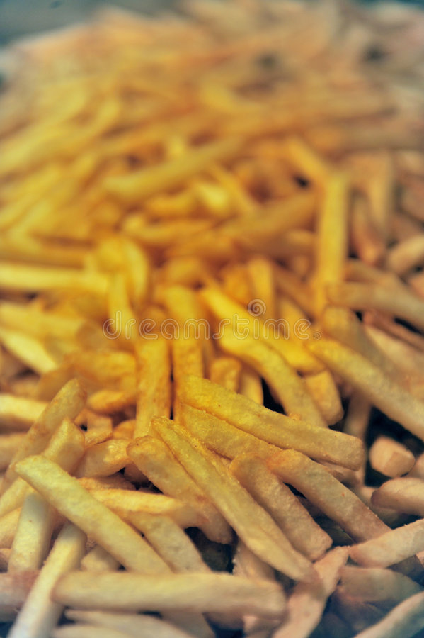 Details of french fries stock photos