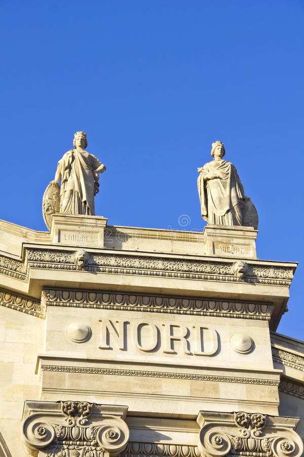 Download Details In The Gare Du Nord Train Station, Paris Stock Image - Image: 26953439