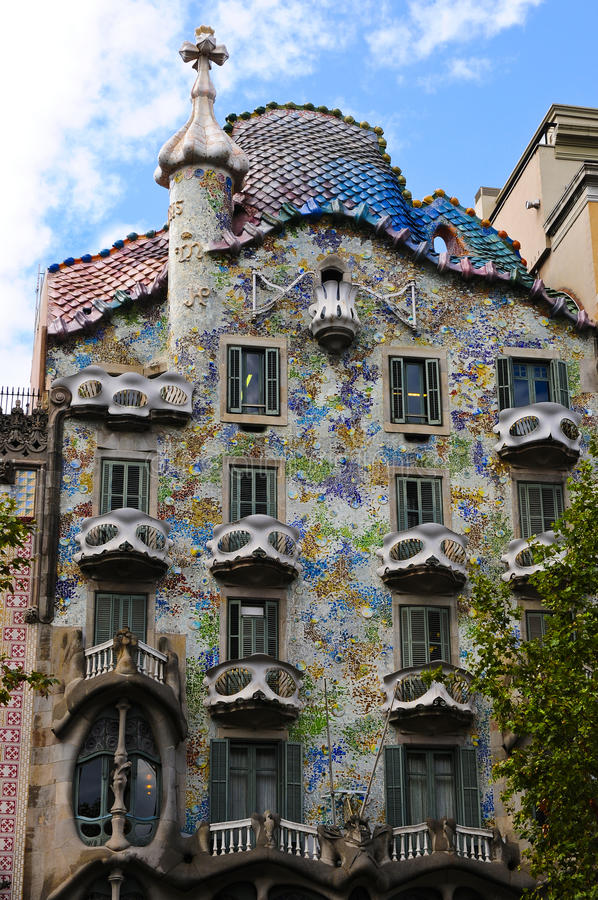 Download Details Of The House Of Gaudi Stock Images - Image: 13659154