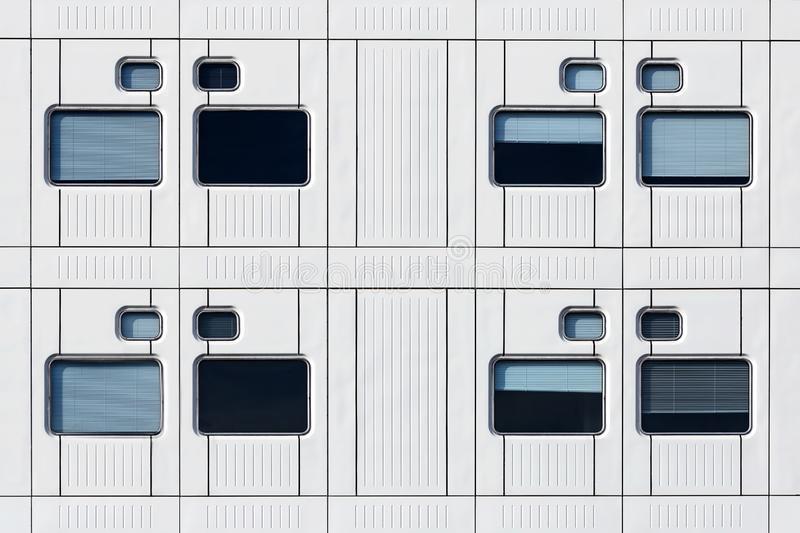 Windows and rows stock photography