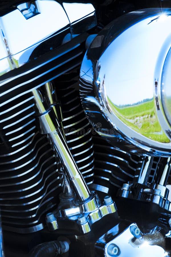 details motormotorcykeln royaltyfria foton